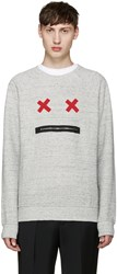 Marc Jacobs Grey Smile Pullover
