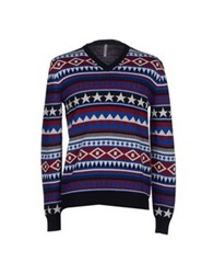 Aimo Richly Sweaters Dark Blue