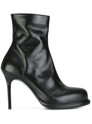 Ann Demeulemeester Stiletto Ankle Boots Black