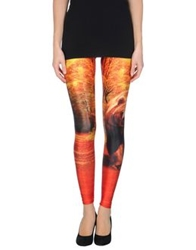 We Are Handsome Leggings Orange