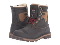 Woolrich Fully Wooly Lace Java Men's Boots Brown