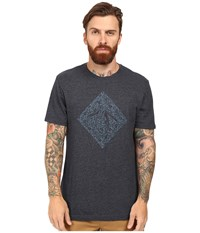 Original Penguin Paisley Pete Dark Sapphire Men's Short Sleeve Pullover Blue