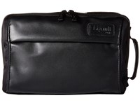 Lipault Paris Premium Collection 10 Dual Compartment Toiletry Kit Black Luggage