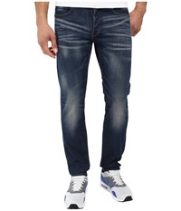 G Star 3301 Straight Fit Jeans In Gosk Stretch Denim Medium Aged Medium Aged Men's Jeans Blue
