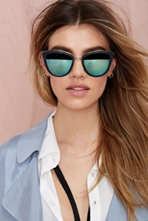 Nasty Gal Quay My Girl Cat Eye Shades