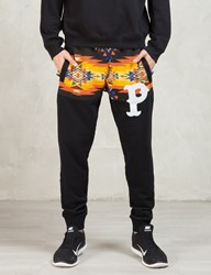 Play Cloths Black Gold Ruch Jogger Pants