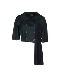 Fendi Blazers Dark Green