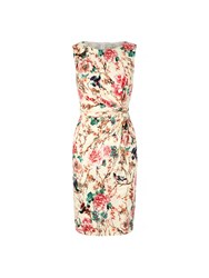 Yumi Eastern Floral Print Party Dress Multi Coloured