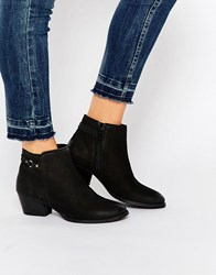 Oasis Western Boots Black