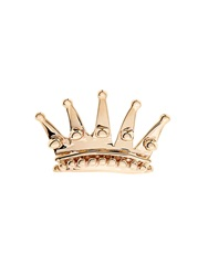 Alison Lou Yellow Gold Queen Crown Earring