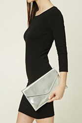 Forever 21 Faux Leather Envelope Clutch