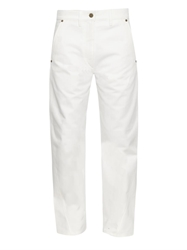 Lemaire Wide Straight Leg Cropped Jeans