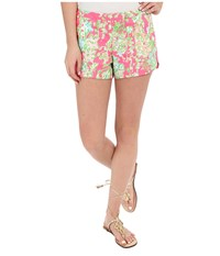 Lilly Pulitzer Adie Shorts Flamingo Pink Southern Charm Women's Shorts