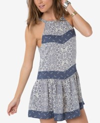 O'neill O' Neill Juniors' Renee Printed Shift Dress Bandana