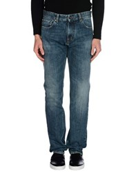 Moschino Denim Denim Trousers Men Blue
