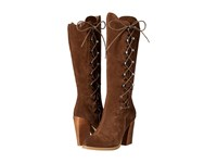 Sbicca Dante Brown Women's Lace Up Boots