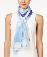 Styleandco. Style And Co. Gemstone Tie Dyed Wrap Only At Macy's Blue