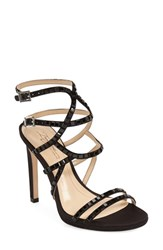 Imagine By Vince Camuto Women's Imagine Vince Camuto 'Gem' Embellished Strappy Sandal Black