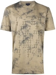 Lanvin Key Pattern T Shirt Grey