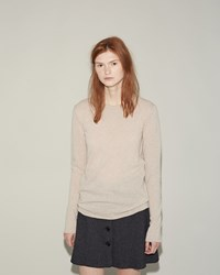 Hache Crew Neck Sweater Ecru
