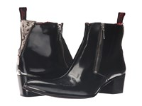 Jeffery West Double Zip Boot Black Men's Boots
