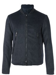 Emporio Armani Zip Pocket Jacket Grey