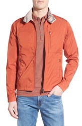 Men's Nau 'Reverb' Regular Fit Reversible Zip Jacket Cinnabar