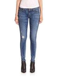 Hudson Krista Slight Distressed Super Skinny Jeans Fierce