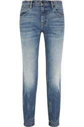 Wang 002 High Rise Straight Leg Jeans