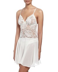 Lise Charmel Love Magicienne Lace Nightie Dentelle Nacre