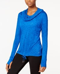 Calvin Klein Performance Cowl Neck Hoodie Pullover Surf The Web Combo