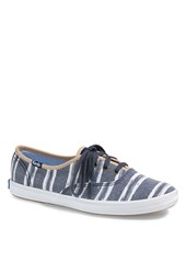 Forever 21 Keds Champion Washed Beach Stripe Shoes Navy