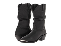 Durango 11 Slouch Boot Oiled Black Women's Boots