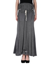 Zucca Skirts Long Skirts Women Grey