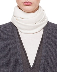Akris Long Cashmere Silk Knit Scarf