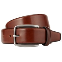 John Lewis Made In Italy Burnished Leather Belt Tan