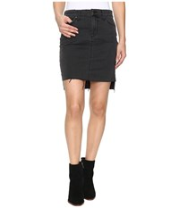 Joe's Jeans High Low Pencil Skirt In Wylie Wylie Women's Skirt Black