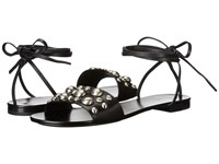 Michael Kors Mica Black Vachetta Studs Women's Dress Sandals