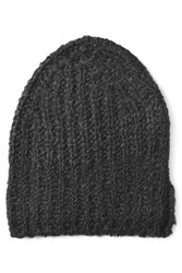 81 Hours By Dear Cashmere Hat With Alpaca And Merino Wool Black