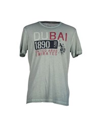 U.S. Polo Assn. U.S.Polo Assn. Topwear T Shirts Men Green