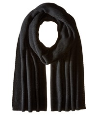 Vince Luxe Thermal Blanket Scarf Black