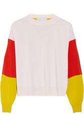 Stella Mccartney Color Block Cashmere Sweater