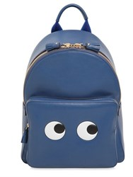 Anya Hindmarch Eyes Embossed Leather Backpack