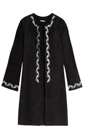 Alexa Chung For Ag Jeans Walker Embroidered Coat