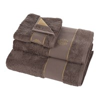 Roberto Cavalli Gold Towel Coffee Hand Towel