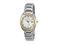 Citizen Em0314 51A Celestial Two Tone Stainless Steel Dress Watches Silver