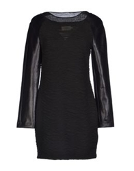 Eleven Paris Short Dresses Black