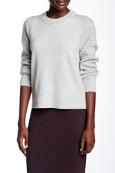 Rag And Bone Catherine Cashmere Crew Neck Sweater Gray
