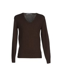 Relive Knitwear Jumpers Men Brown