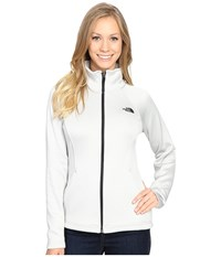 The North Face Agave Full Zip Lunar Ice Grey Heather Women's Sweatshirt White